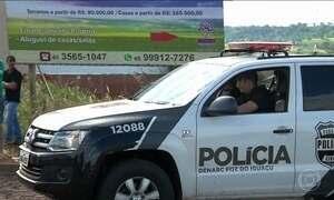 PF reforça fronteira com o Paraguai para ajudar na investigação de assalto milionário