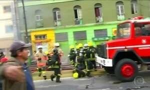 Terremoto no Chile atinge região de Valparaíso