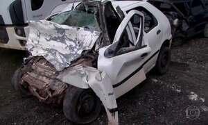Acidente de trânsito na Bahia deixa 8 mortos e um ferido