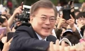 Coreia do Sul elege novo presidente