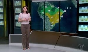 Previsão do tempo aponta muita chuva nos extremos do país