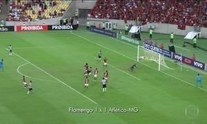 Empate entre Flamengo e Atlético-MG abre o Campeonato Brasileiro
