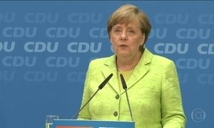 Partido de Angela Merkel conquista importante vitória nas eleições regionais