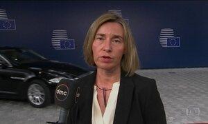 União Europeia pede à Venezuela a libertação de todos os presos políticos