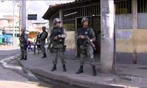 Força Nacional de Segurança começa o reforço na cidade do RJ