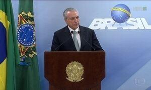 STF autoriza investigação do presidente Michel Temer, que descarta renúncia