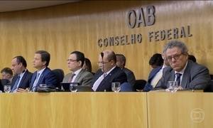 """OAB apresentará pedido de impeachment de Temer nesta semana"", diz Lamachia"