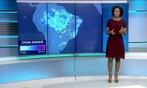 Confira a previsão do tempo para a quarta-feira (24) em todo o país