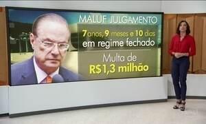 Paulo Maluf é condenado a quase 8 anos de prisão por lavagem de dinheiro