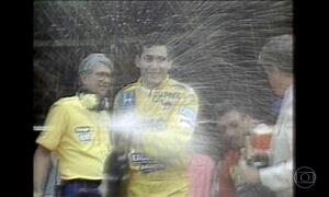 Primeira vitória de Ayrton Senna em Mônaco completa 30 anos