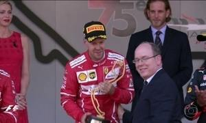 GP de Mônaco de F1 tem dobradinha da Ferrari