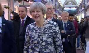 Britânicos vão às urnas sob a sombra do terrorismo nesta quinta-feira (8)