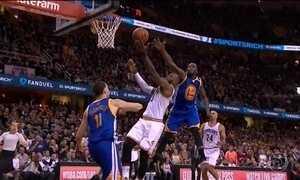 Cleveland Cavaliers vence Golden State Warriors no quarto jogo da final da NBA