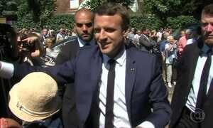 Partido de Macron vence o primeiro turno da eleição legislativa da França