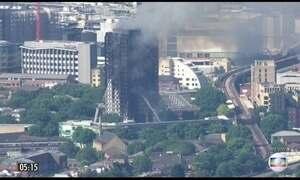 Incêndio em prédio provoca mortes e deixa 50 feridos