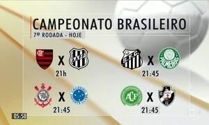 Confira as partidas da 7ª rodada da Série A do Campeonato Brasileiro