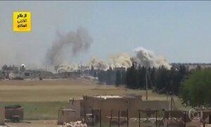 Tropas de Al-Assad retomam campo de petróleo do EI na Síria
