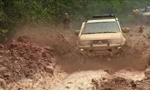 Rodovia no Norte do país não oferece condições mínimas de tráfego