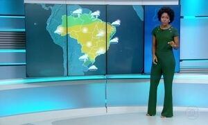 Confira a previsão do tempo para o domingo (18)