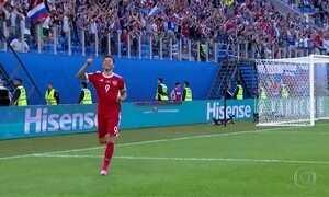 Seleção da Rússia estreia com vitória na abertura da Copa das Confederações