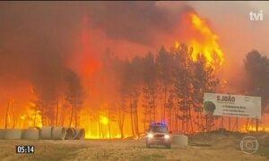 Incêndio que provocou 62 mortes em Portugal ainda não foi controlado