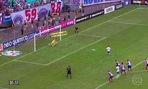 Coritiba e Corinthians empatam em 0 a 0 pela 8ª rodada do Brasileirão