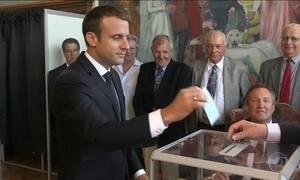 Na França, Macron consegue maioria no Parlamento para aprovar reformas