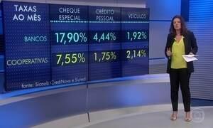 Queda de juros favorece acordo com os credores