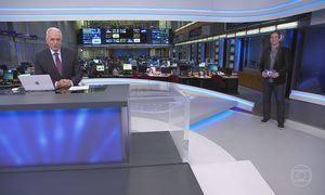 Jornal da Globo - Edição de segunda-feira 19/06/2017