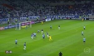 Cruzeiro e Grêmio empatam em 3 a 3