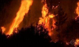 Sobe para 64 o número de mortos no incêndio em Portugal