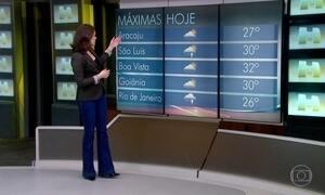 Frente fria avança e traz muita chuva ao Rio de Janeiro