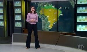 Frente fria avança e áreas de instabilidade provocam mais chuva forte no RJ