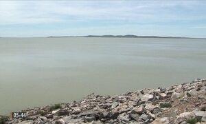 Falta de chuva prejudica armazenamento nos reservatórios do Rio São Francisco