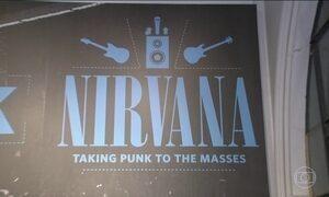 Exposição inédita do Nirvana está no Rio de Janeiro