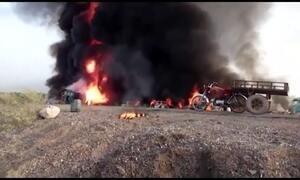 Explosão em caminhão-tanque mata 150 pessoas no Paquistão