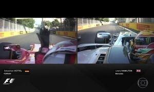 Corrida maluca no GP do Azerbaijão
