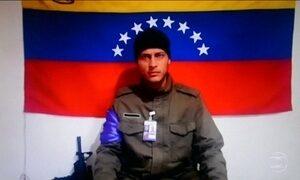 Piloto venezuelano que fez voos rasantes em Caracas posta vídeo na internet