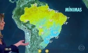 Previsão alerta para risco de temporal em Natal (RN)