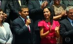 Procuradoria peruana pede prisão preventiva do ex-presidente Ollanta Humala e da mulher