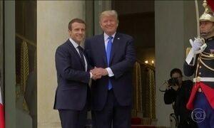 Trump vai à França discutir terrorismo e a guerra na Síria com o presidente Macron