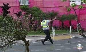 PMs que dispararam arma de foto em protesto no DF são indiciados