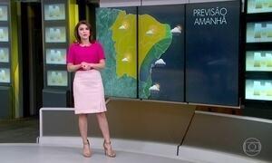 Previsão é de chuva no Norte do Brasil, litoral nordestino, ES e no Sul do RS