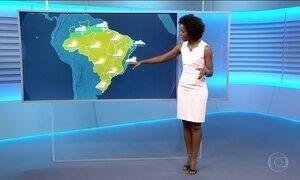 Confira a previsão do tempo para a sexta-feira (28) em todo o país