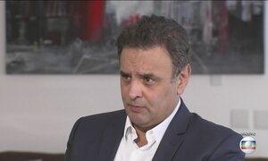 Procurador-geral da República volta a pedir ao Supremo prisão de Aécio Neves