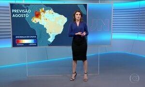 Confira a previsão do tempo para a terça-feira (1) em todo o país