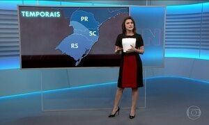 Confira a previsão do tempo para a quarta-feira (2) em todo o Brasil
