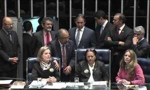 Conselho de Ética do Senado arquiva denúncia contra senadoras que ocuparam mesa