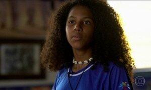 Criança Esperança: Olga, de 15 anos, mostra a resistência feminina num quilombo