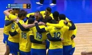 Seleção masculina de vôlei chega ao Chile para desafio